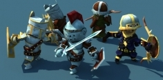 Animated Fantasy Heroes Set 1.2 unity3d