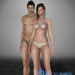 【免费】黑色沙漠角色模型