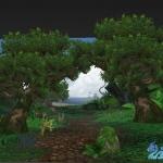 魔兽世界郊外场景【2棵树+部分植物模型+护栏什么的】