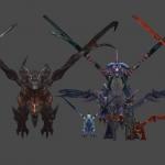 魔兽世界 龙族集合 龙体型参考 物超所值50金币!!!!