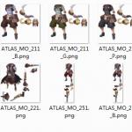 公司新游戏全套UI及地图和角色图,高清无码