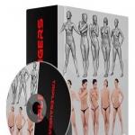 10组高精度男女3D模型合辑