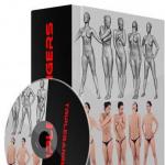 【免费】福利来了!10组高精度男女3D模型合辑