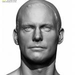 高品质男性角色人体高模模型 完美男性身体细节3D模型