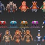 首发【你好英雄】休闲益智手游-角色/怪物/NPC/武器全套模型-(百度网盘)