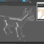 AdvancedSkeleton5最新版本,喜欢maya的朋友可以试试,人物动物轻松绑定。