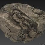 高精品次世代石头模型 法线贴图之类齐全