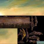 横版游戏场景元件素材 43P