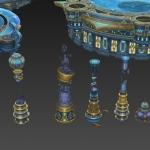 大厂出品 美轮美奂的星空场景模型