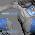 3DMAX超强拓扑插件Wrapit插件 强势出击 你不能不拥有 超赞自动布线的拓扑插件CG插件