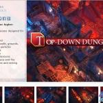 高精品unity手游地牢资源 品质保证Top-Down Dungeons II精品手绘资源