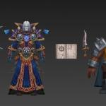 【魔兽风】一套高质量的魔兽风格手游角色成套模型