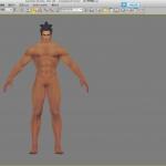 游戏专用渲染灯光效果,裸模,三渲二,提升角色出图质量专用8