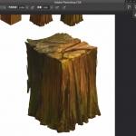 写实木头的绘画步骤