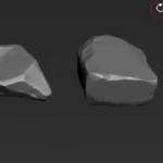 四部分Zbrush石头雕刻贴图教程