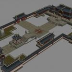 笑傲江湖OL部分3D场景模型