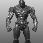 Gumroad - 终极机械战警建模教程,使用软件:3dsmax,zbrush