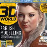 全世界高手必读的3D杂志 - 3D World Issue 2015 6月份