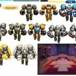【神甲三国】塔防类Q版手游游戏UI美术特效资源 95MB