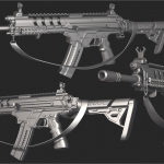 枪械次世代模型展示【Ben Bolton】303p