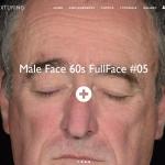 Texturingxyz出品人物角色老人头照片贴图一套