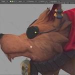 3DCoat海盗狗实例制作视频教程
