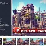 效果非常美!Unity卡通城市 Post Appo Cartoon 超赞的卡通美术资源!