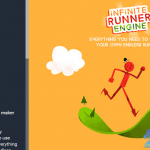 unity3d无限循环游戏项目包2D+3D Infinite Runner Engine