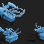 各种冰修图素材整理大合集 300多P 各种PSD TGA文件 1.6G