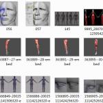 自己网上收集的一些人头参考,3D原画通用哦,价格便宜,只要10块