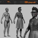 影视级角色模型制作全流程视频教程 - Character Modeling for Production
