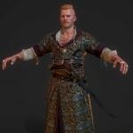 巫师3反派Olgeird角色模型