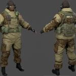 次世代-丛林特种兵模型
