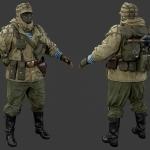 次世代-海军陆战队成员模型