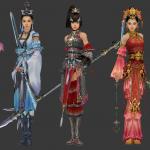 剑网三几个美女
