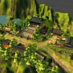 自己从Unity场景中整理出来的场景模型资源,有建筑,物件,植物等