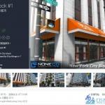 Unity3D游戏场景模型 NYC Block #1 纽约城市建筑包 素材资源包