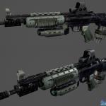 次世代武器科幻枪M82G