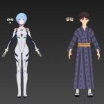 首发 新世纪福音战士 EVA 角色 模型 游戏 资源
