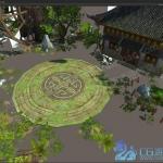 全网首发!武侠先河手绘场景《剑侠情缘》!Unity3d/MAX双版本!