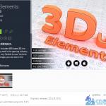 [unity插件] 3D UI Elements 1.1 超丰富3D UI控件集合(百度网盘)