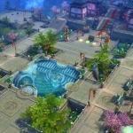 游戏古代武侠主城设计3DMAX模型