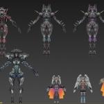 异度之刃幻想风格全套NPC 武器模型