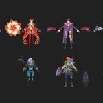《英雄战境》全套精品角色模型
