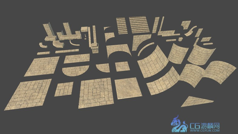 Medieval Modular Level Kit 1.0 unity3d asset