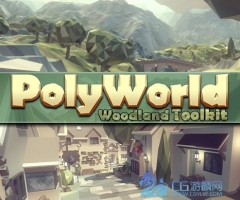 PolyWorld: Woodland Low Poly Toolkit 2.2 unity3d asset