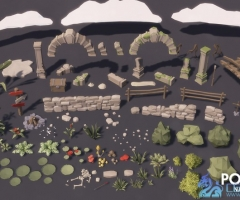 POLYGON - Nature Pack 1.0 unity3d asset