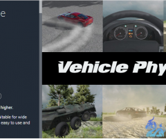NWH Vehicle Physics 1.8.0 unity3d asset