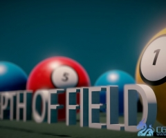 unity3d景深着色器Physical Depth of Field 1.05