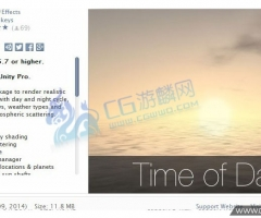 unity3d-Time of Day - Dynamic Sky Dome 2.0.7 下载